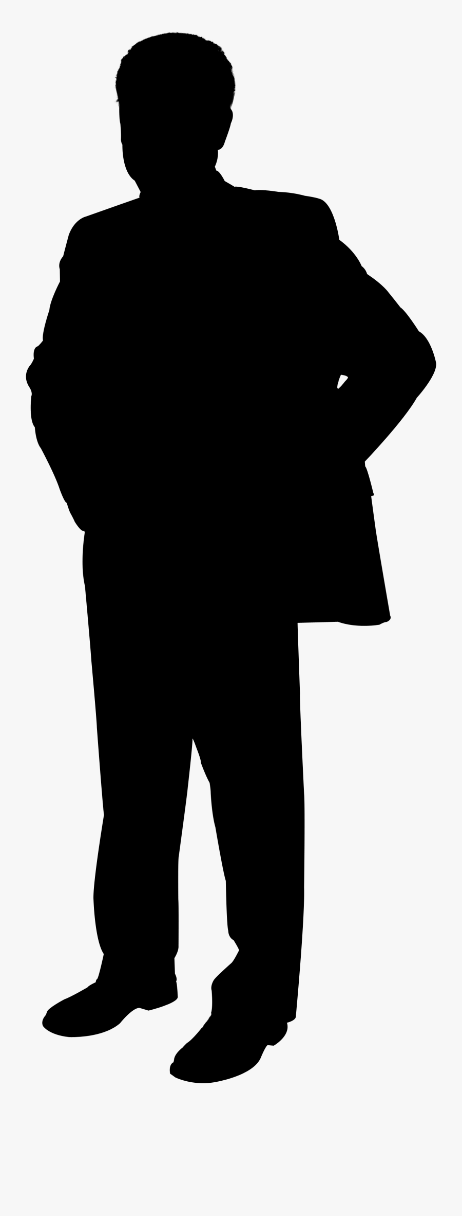 Cathy Gale John Steed Journalist Stock Illustration - Silhouette Of Man Png, Transparent Clipart