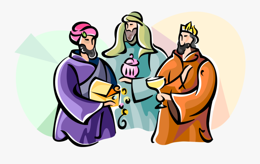 Epiphany Clipart Wise Men - 3 Wise Man Png, Transparent Clipart