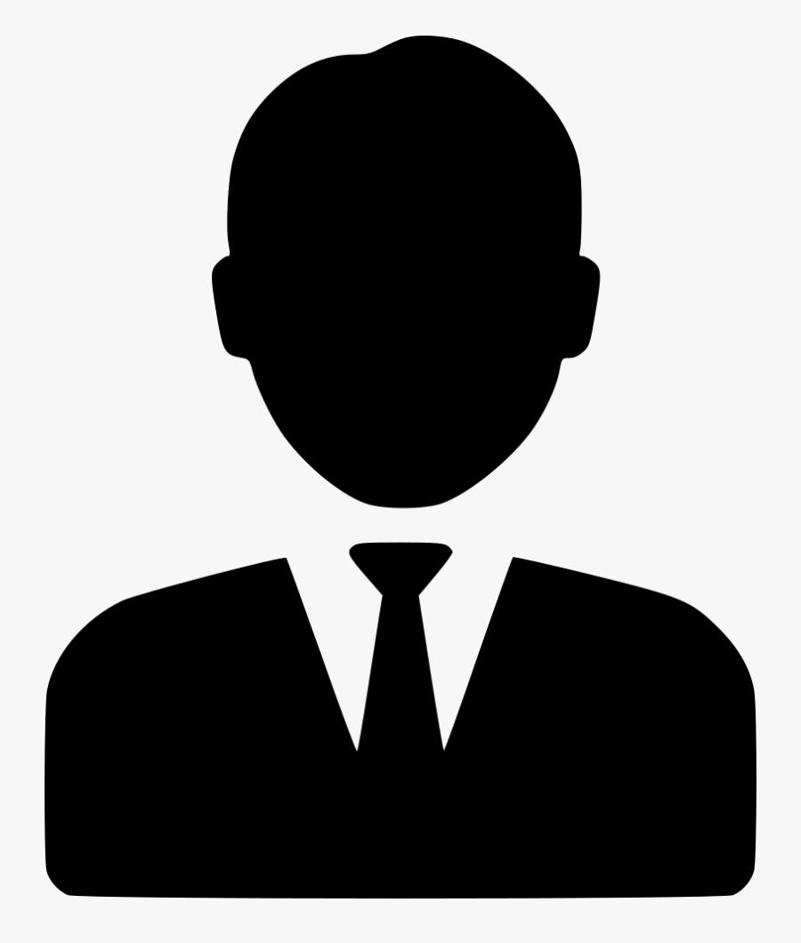 Business Man Comments - Business Man Icon Png, Transparent Clipart