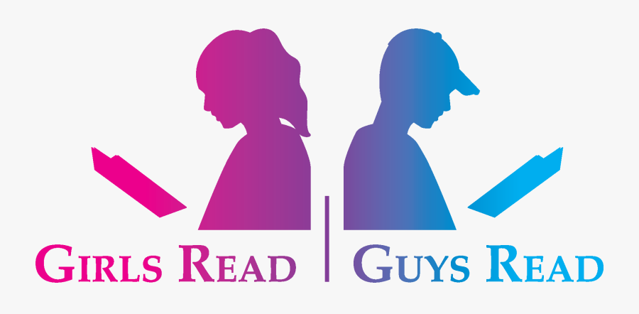 Guys Read Book Image Girl Reading - Read Book Png, Transparent Clipart