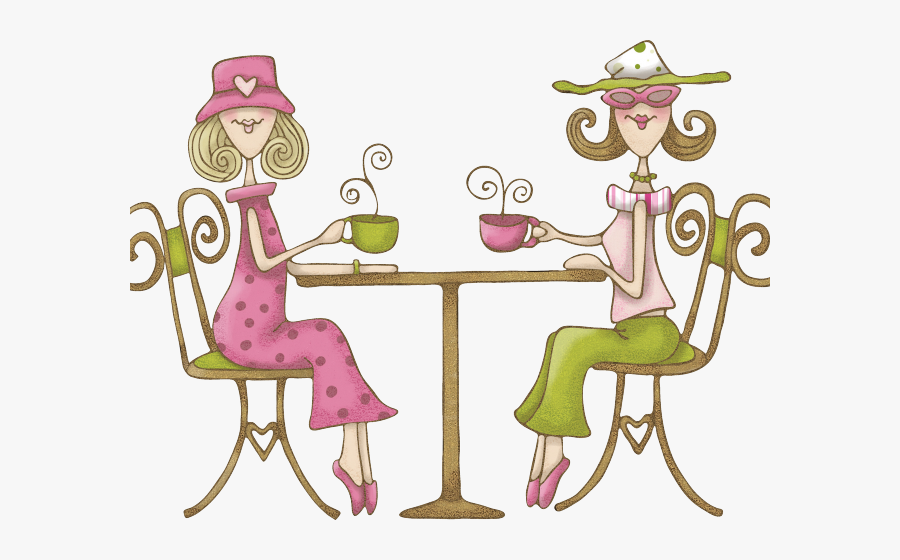 Tea Time Clipart Family - Coffe With Friends Quotes, Transparent Clipart