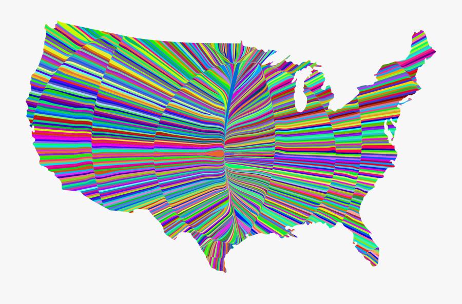 United States Black Hills Map, Transparent Clipart