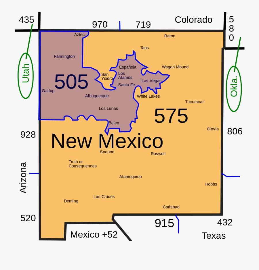 Area Code Is 505, Transparent Clipart