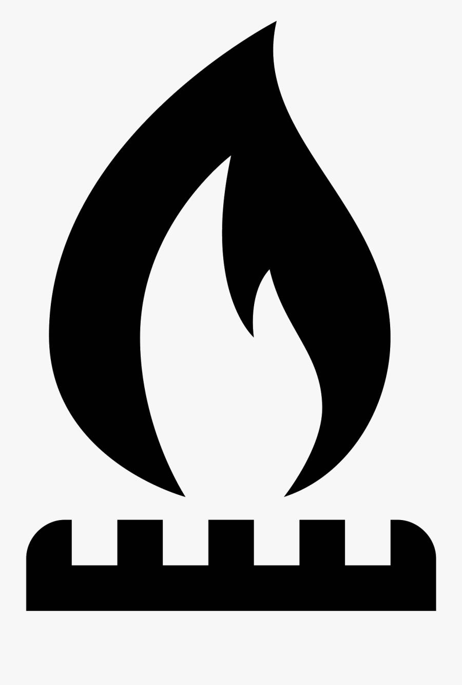 Industria Icono Descarga Gratuita - Natural Gas Icon Png, Transparent Clipart