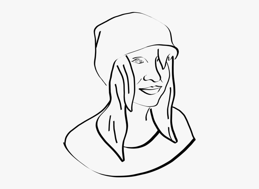 Emotion,art,monochrome Photography - Line Art, Transparent Clipart