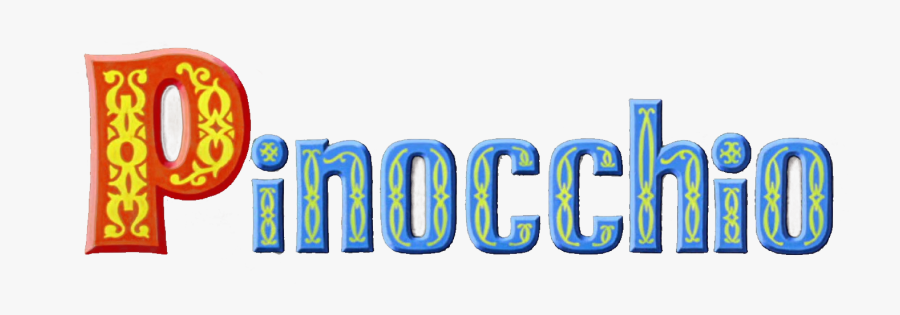 Pinocchio Disney Logo, Transparent Clipart