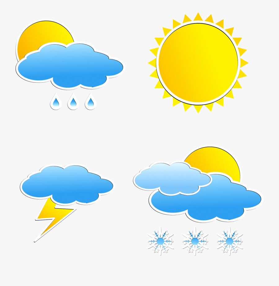 Weather Forecasting Rain Icon - Weather Forecast Icon Png, Transparent Clipart