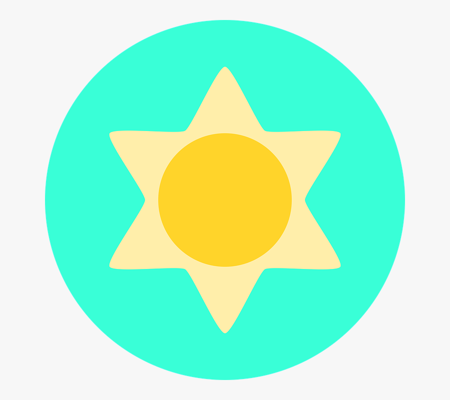 Transparent Weather Forecast Clipart - Circle, Transparent Clipart