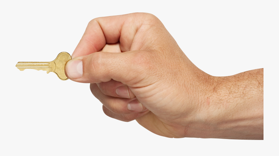 Four Isolated Stock Photo - Key In Hand Png, Transparent Clipart