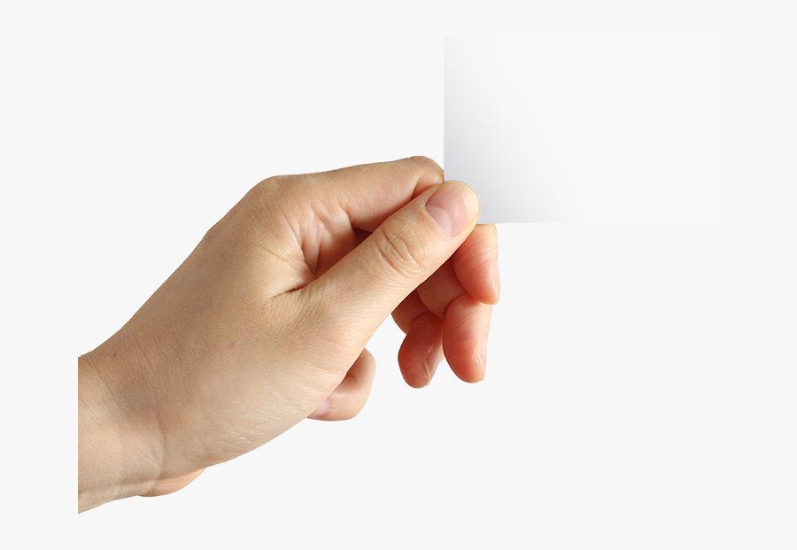 Clip Art Business Card Company - Hand Holding Picture Png, Transparent Clipart