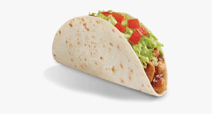 Del Food Salsa Chicken - Salsa Chicken Taco Del Taco, Transparent Clipart