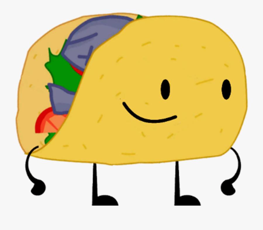 Fish Taco Clipart Smile - Cartoon Taco Royalty Free, Transparent Clipart