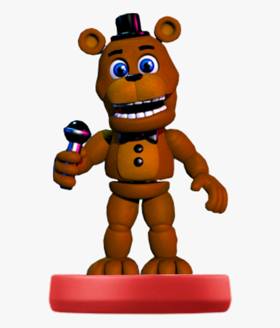 For Some Reason I See The Adventure Characters As Amiibos - Fnaf World Fredd, Transparent Clipart