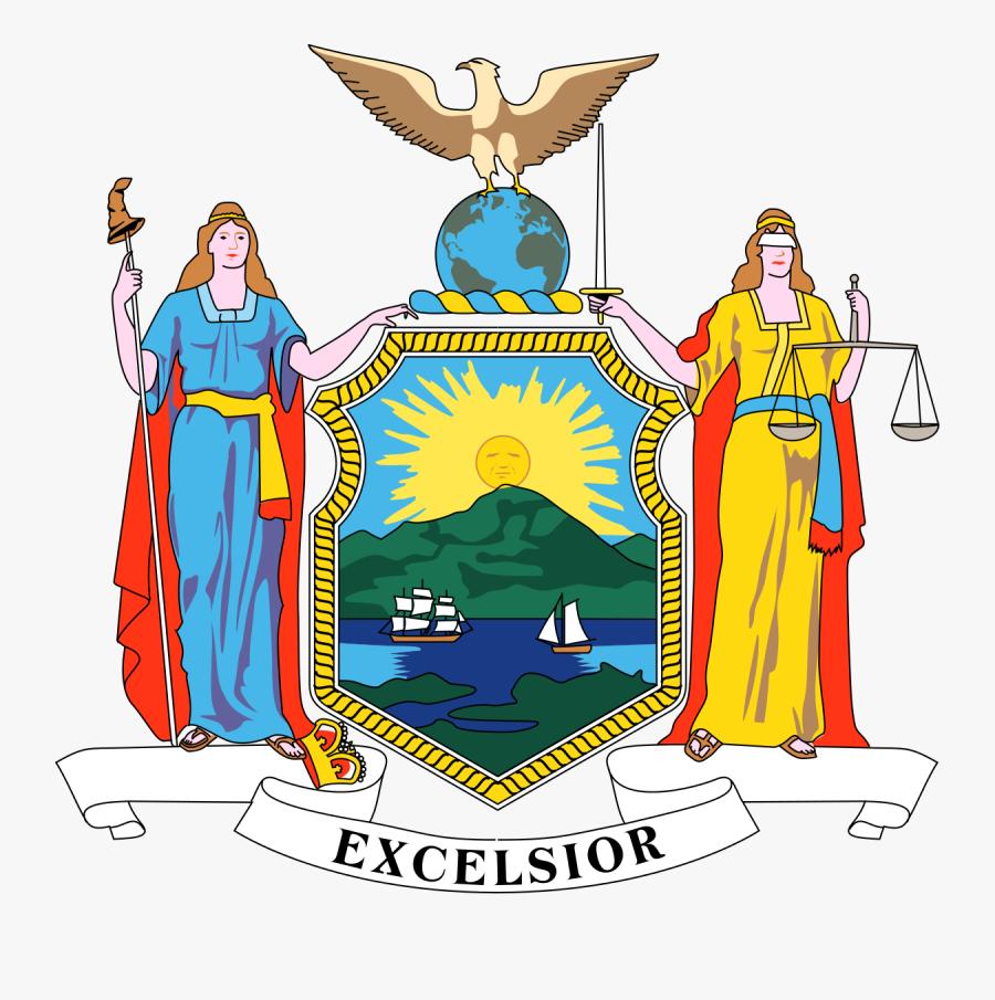 New York New Jersey Flag, Transparent Clipart