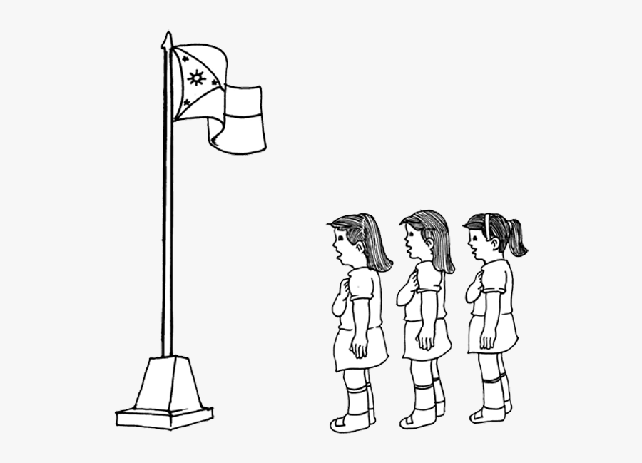 Singing Philippine National Anthem Drawing Singing National