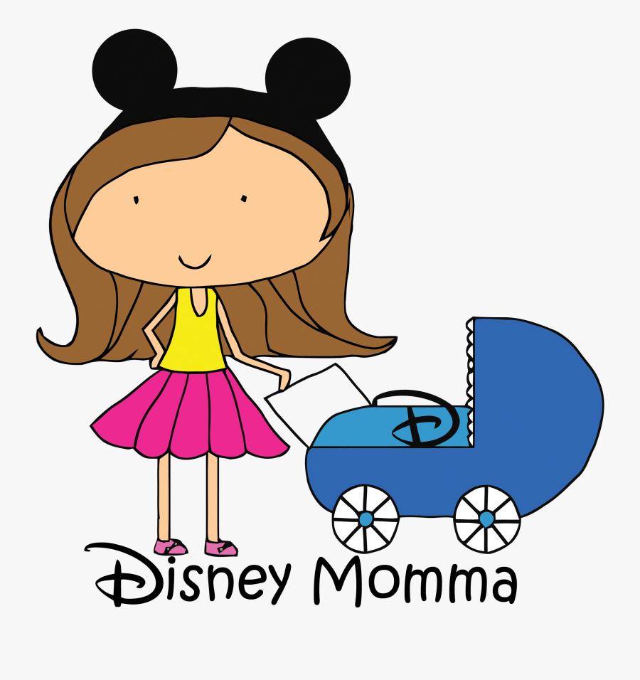 Disney Momma - Walt Disney World Resort, Transparent Clipart