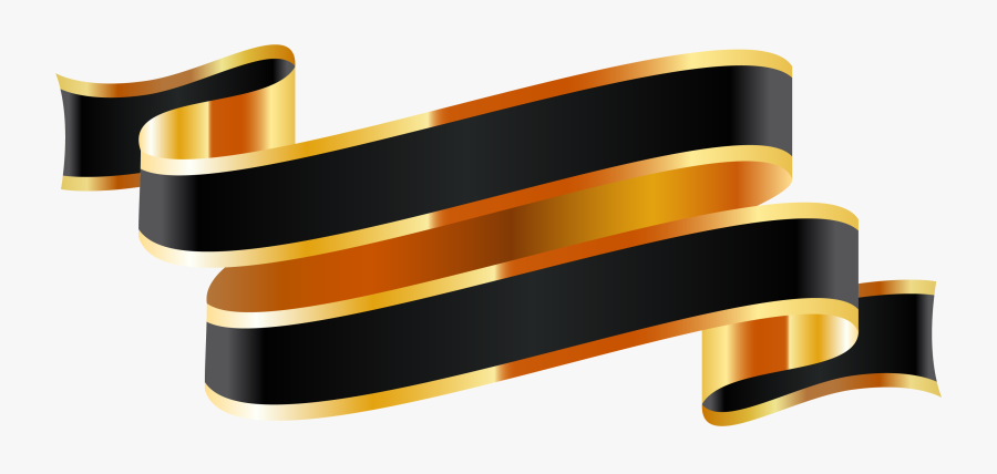 Vector Black And Gold Png, Transparent Clipart