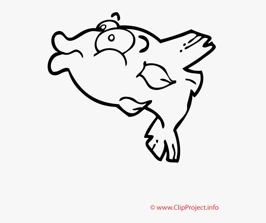 Piranha Coloriage - Ausmalbilder, Transparent Clipart