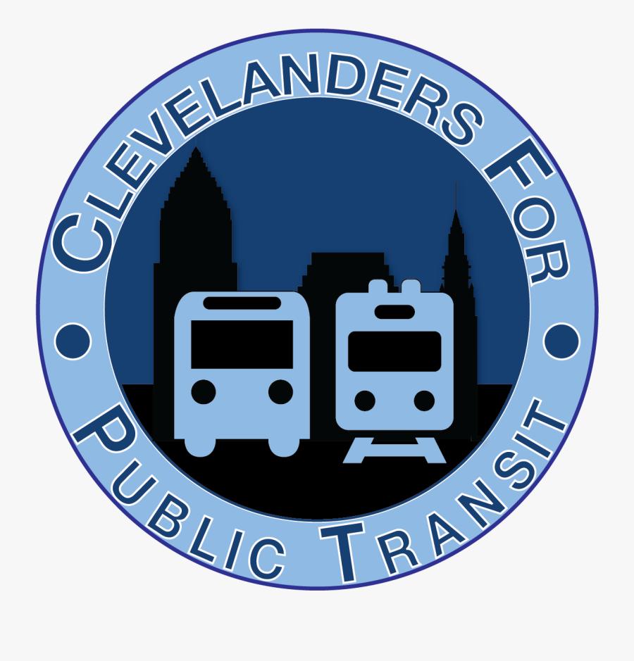 Clevelanders For Public Transit Town Hall - Emblem, Transparent Clipart