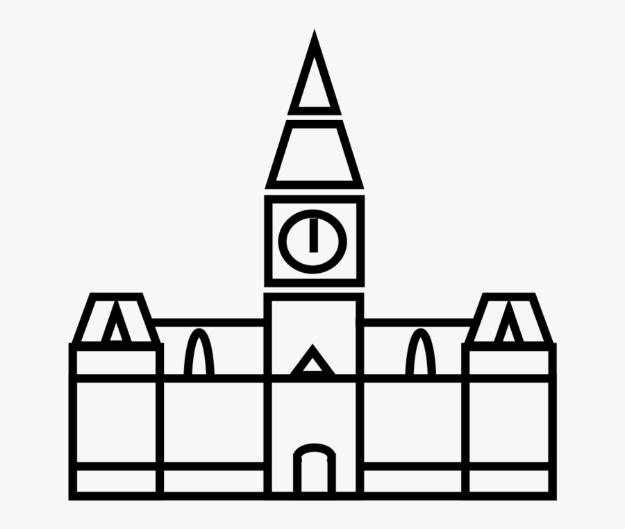 Transparent Town Hall Png - Manchester Town Hall Icon, Transparent Clipart
