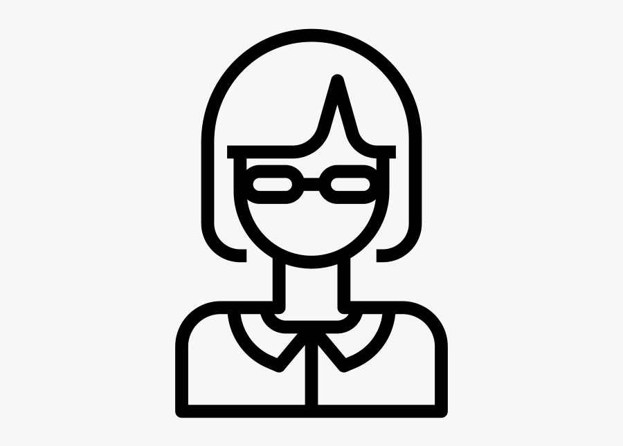 "Nerd Rubber Stamp""  Class=""lazyload Lazyload Mirage - Outline Image Of Nurse, Transparent Clipart"