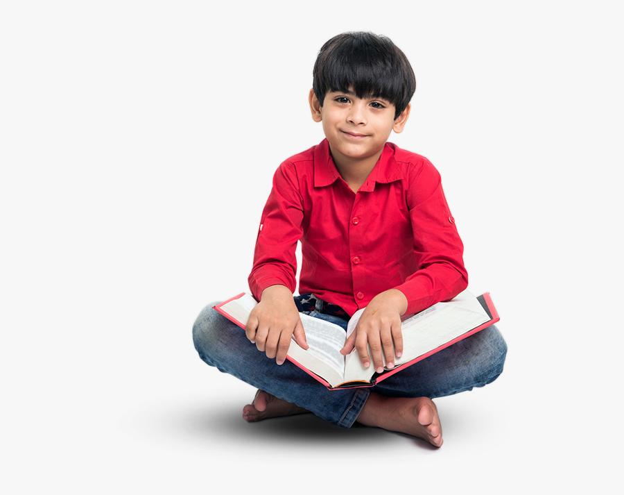 Kids Reading, Transparent Clipart