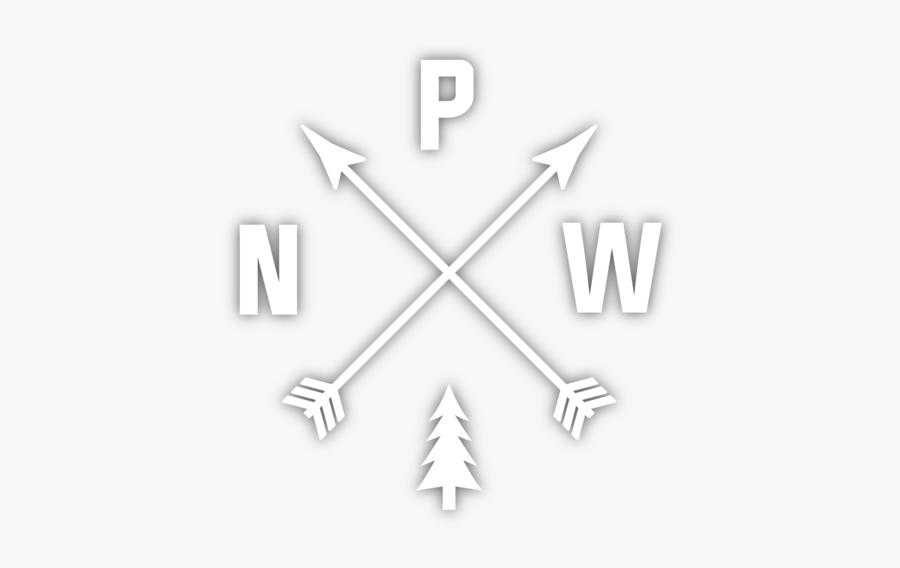Pacific Northwest Arrow Logo, Transparent Clipart