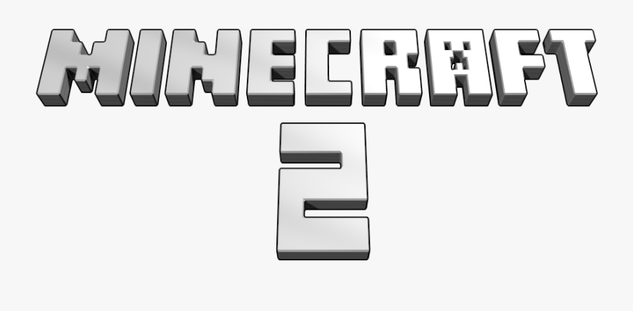 Minecraft 2 Part Calligraphy Minecraft 2 Logo Free Transparent