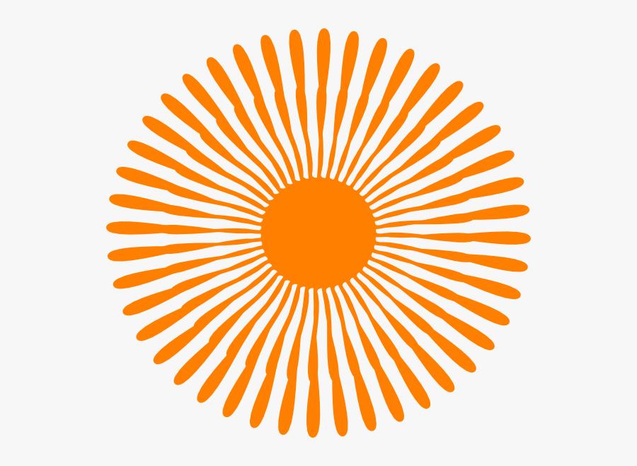 Orange Flower Svg Clip Arts - Thiripura Chits Private Limited, Transparent Clipart