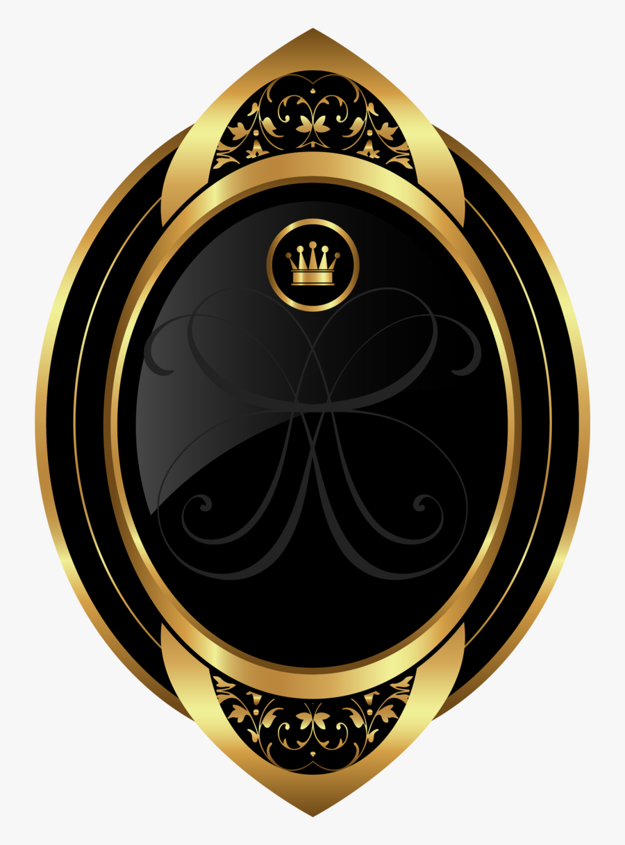 Painted Golden Crown Hand Free Clipart Hq - Golden Circle Crown Logo Png, Transparent Clipart