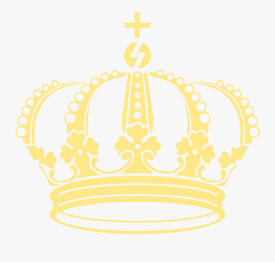 Transparent Gold Glitter Crown Clipart - King Crown With Wings, Transparent Clipart