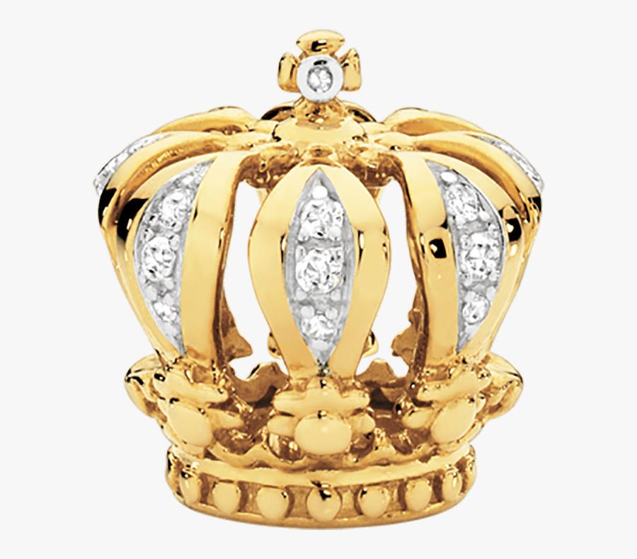 Gold Crown Png, Transparent Clipart