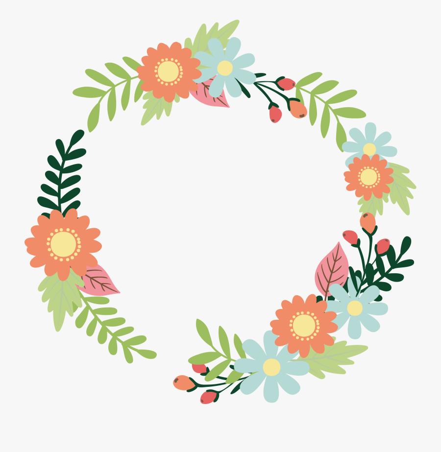 Transparent Rustic Flowers Clipart - Floral Design Title Png, Transparent Clipart