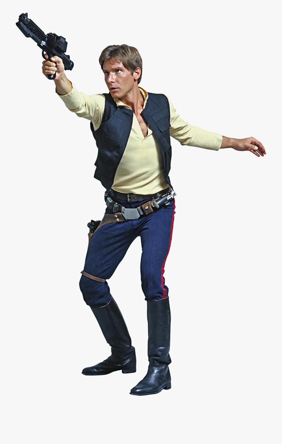 Han Solo Luke Skywalker Chewbacca Leia Organa Solo - Star Wars Han Solo Png, Transparent Clipart