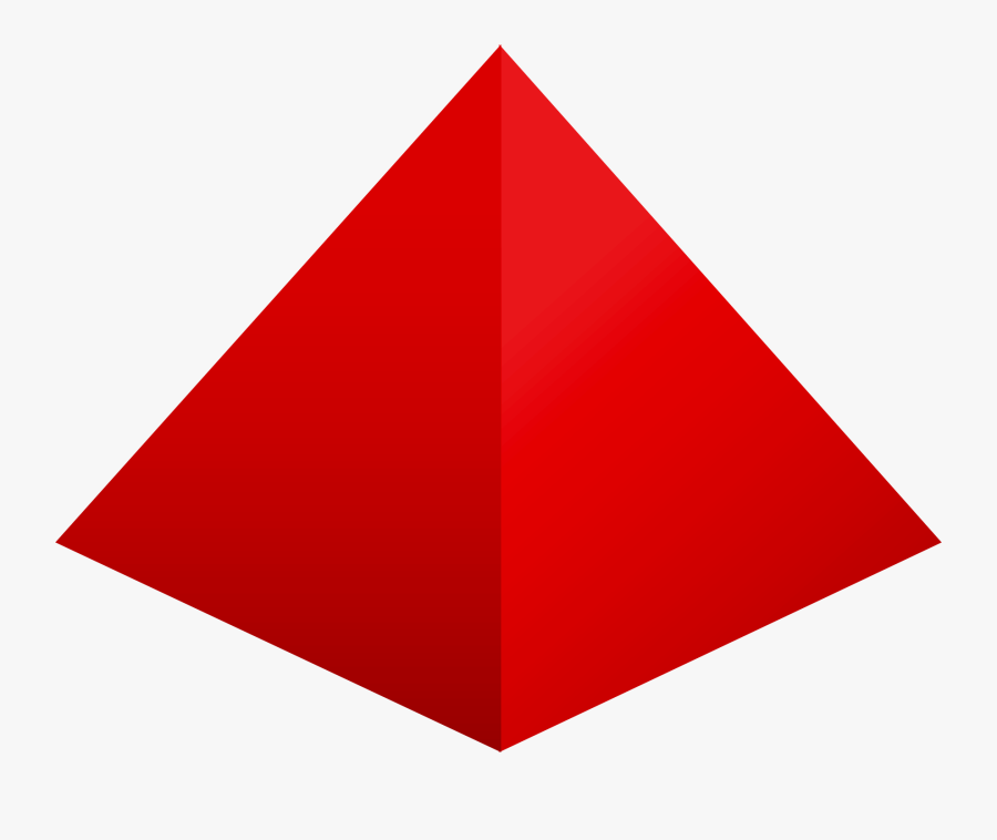 Transparent 3d Pyramid Png - 3d Triangle Shape Png , Free ...