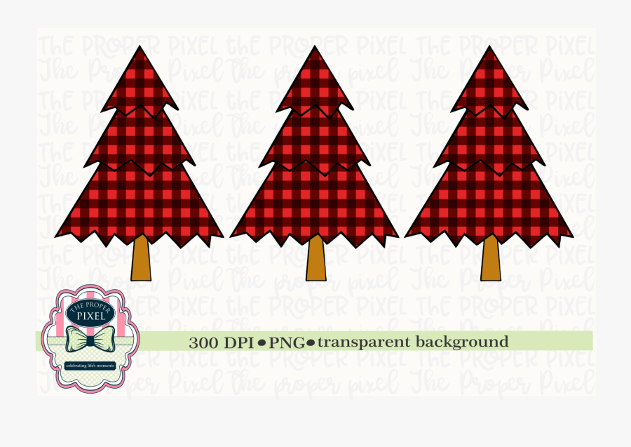 Tree Design Buffalo Plaid Christmas Sublimation Printable ...