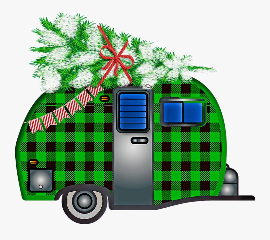 Buffalo Plaid Christmas Clipart