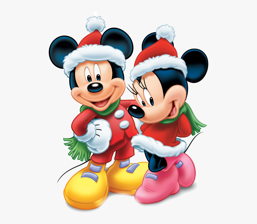 Disney Pluto Christmas Clipart - Mickey & Minnie Mouse, Transparent Clipart