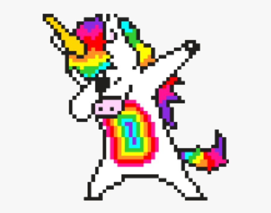 Confetti Drawing Pixel Art Pixel Art Licorne Facile Free