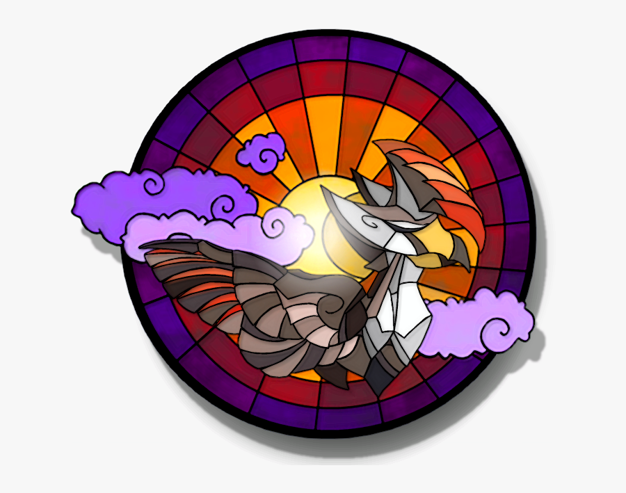 Dove Clipart Stained Glass - Stained Glass, Transparent Clipart