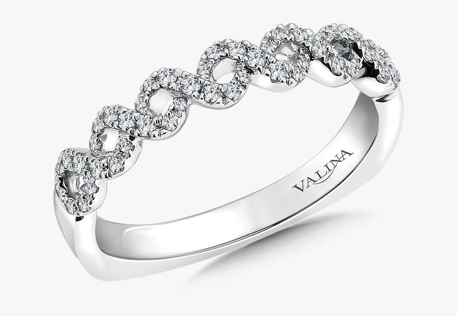 Valina Wedding Band - Wedding Ring, Transparent Clipart