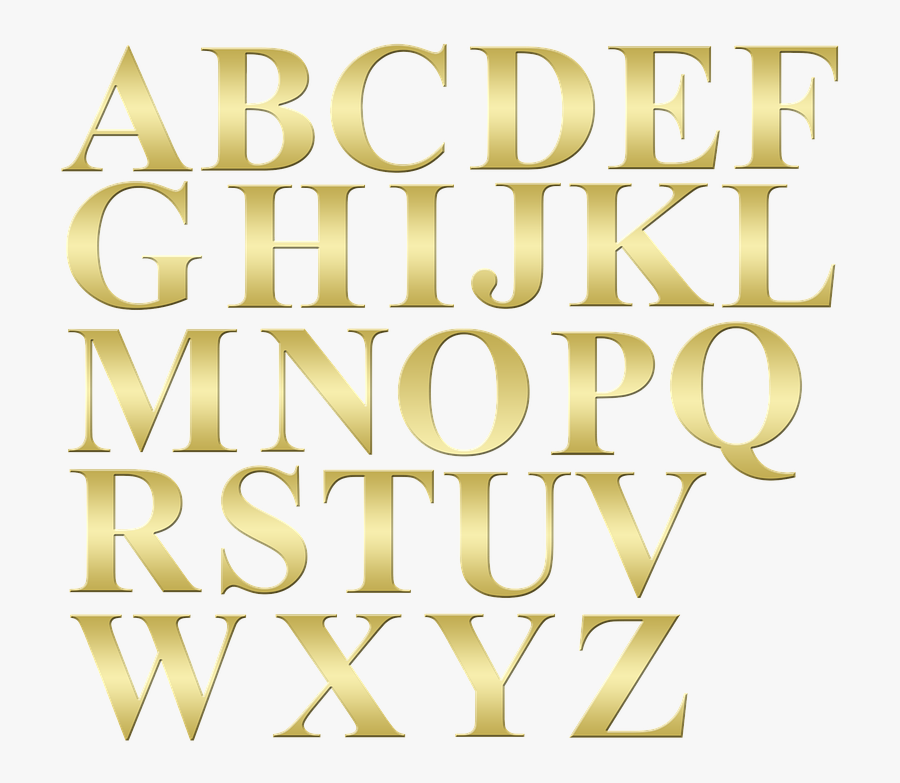 Alphabet, Alphabet Letters, Letters, Letter, Font, - Alphabet Or Png, Transparent Clipart