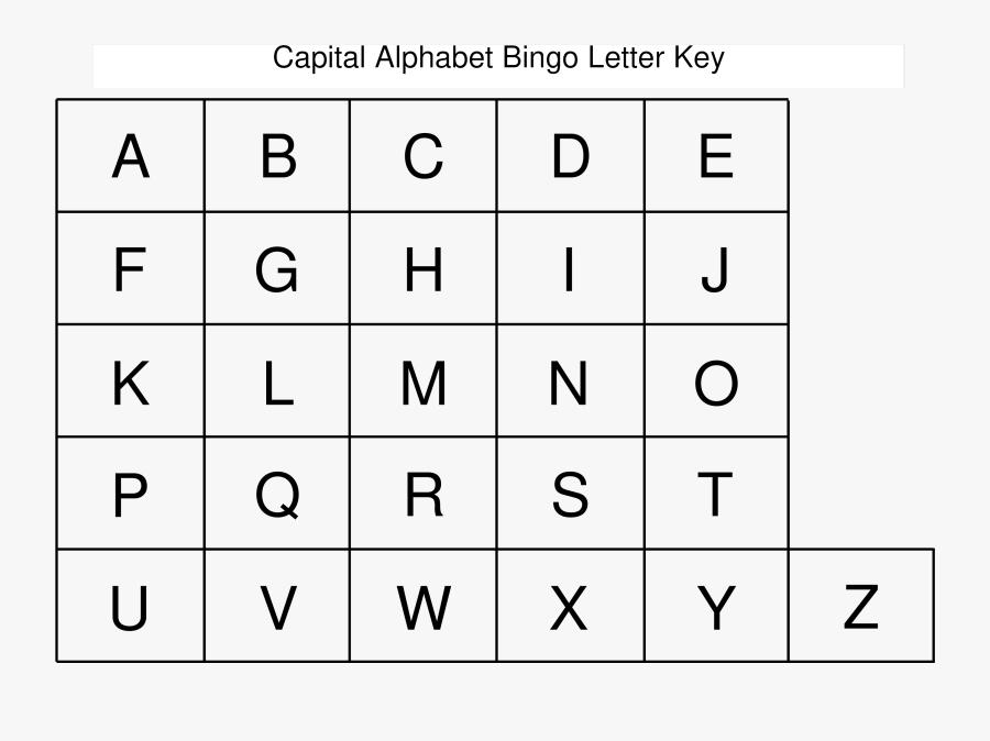 Clip Art Free Printable Block Letters - Free Printable Uppercase Alphabet, Transparent Clipart