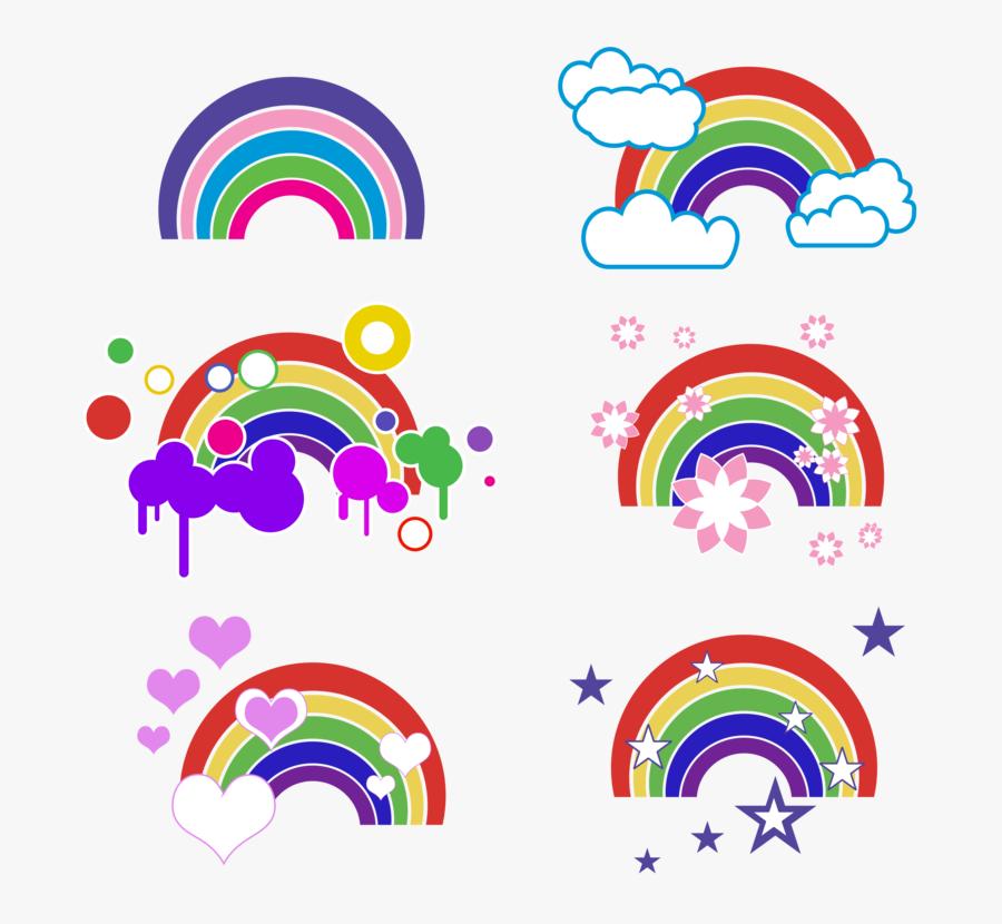 Rainbow Computer Icons Download Art Encapsulated Postscript - Clip Art, Transparent Clipart