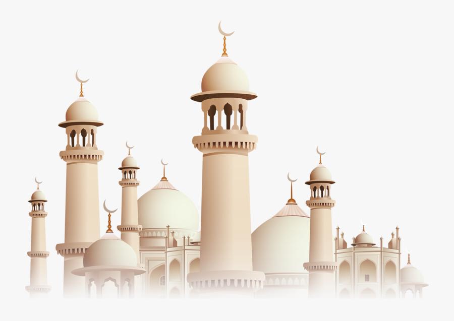 Islamic Castle Mosque Architecture Golden Free Transparent - Allah Bless You Always, Transparent Clipart