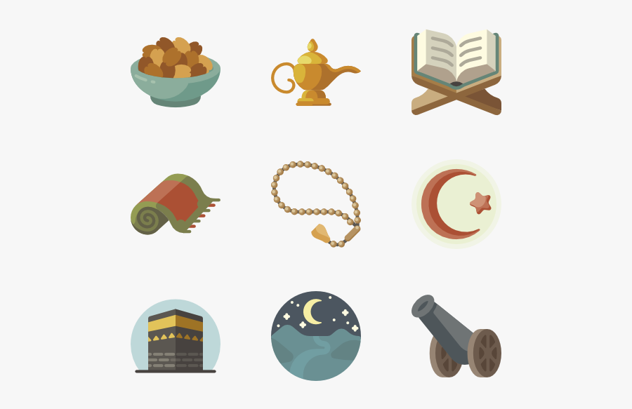 Vector 3d Islamic - Islamic Ramadan Icon, Transparent Clipart
