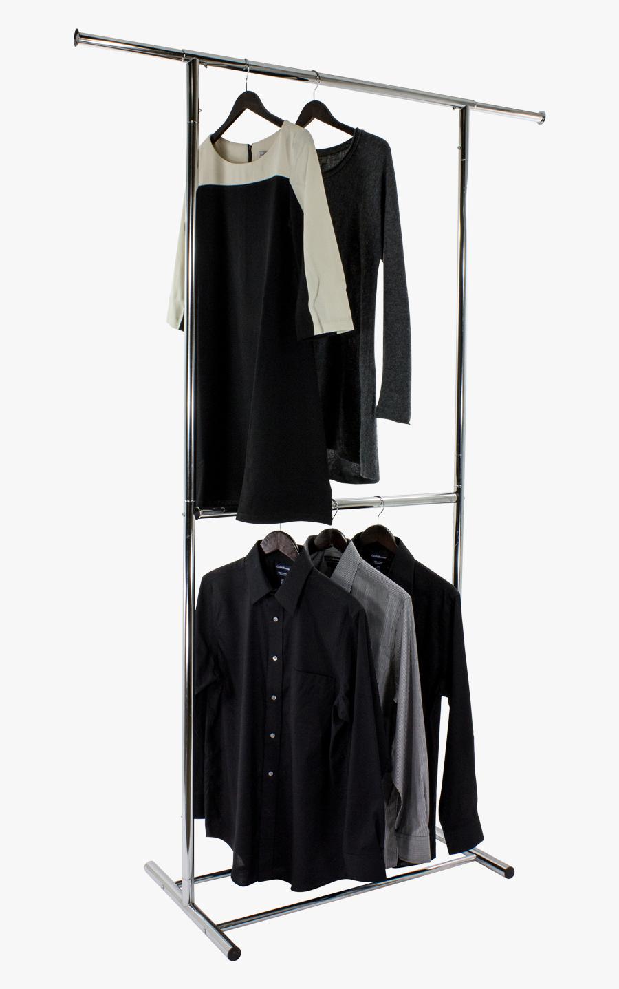 Hanging Clothes Png - Hanging Clothes Rack Transparent, Transparent Clipart