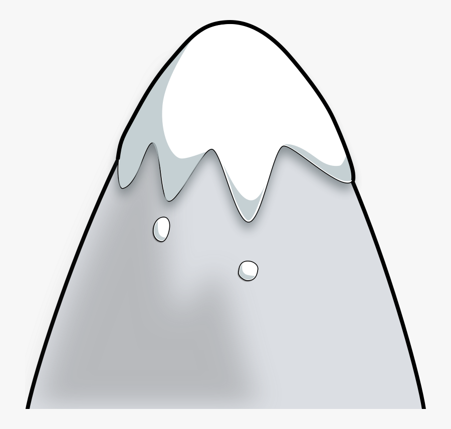 Transparent Free Mountain Clipart - Animated Mountain With Snow, Transparent Clipart