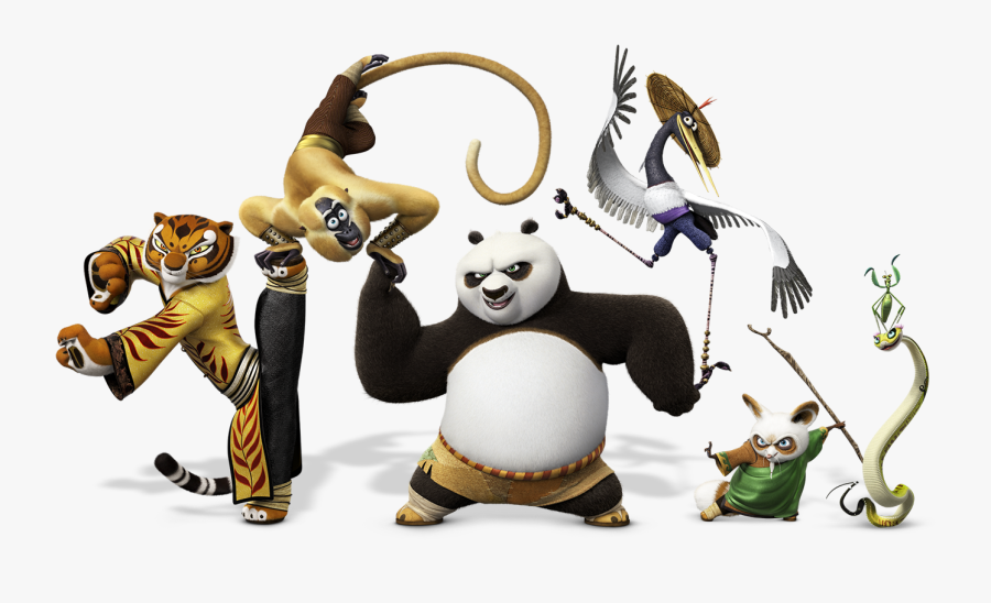 Clip Art Kungfu Panda Wallpaper - Kung Fu Panda Png, Transparent Clipart