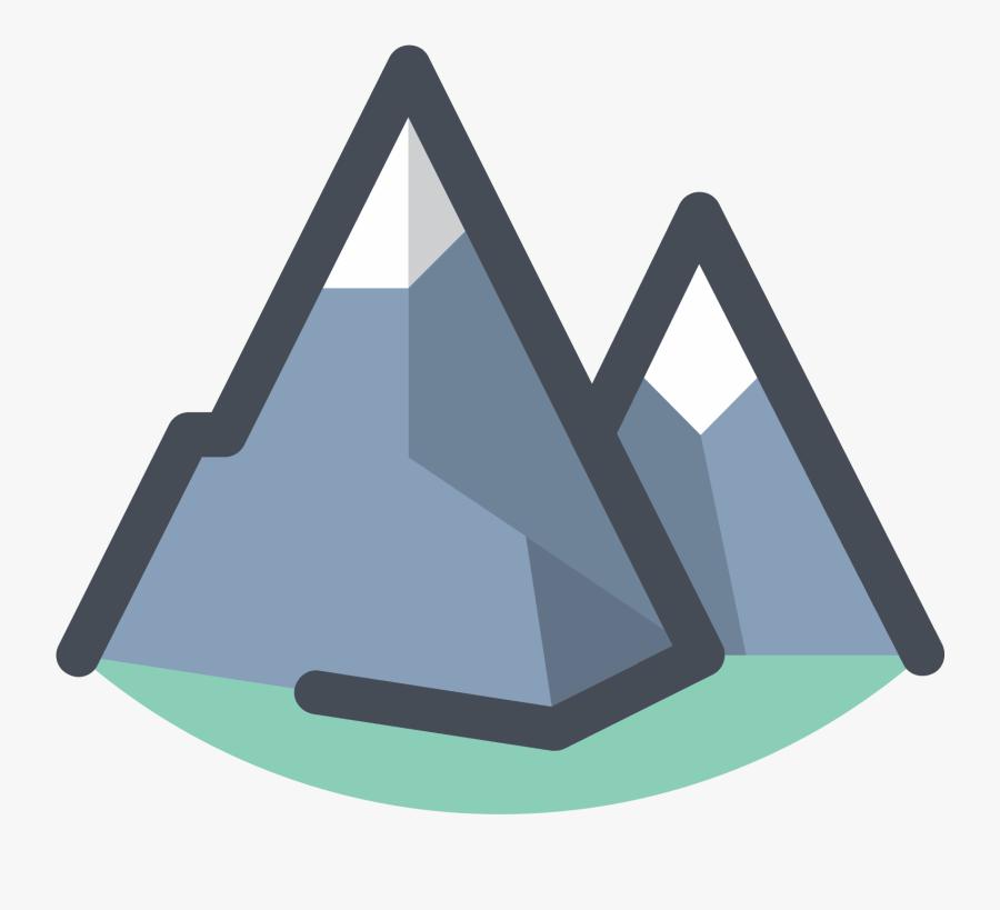 Transparent Clipart Montagne - Mountain Transparent Icon, Transparent Clipart